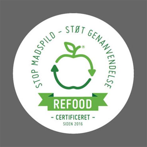 Link til Refood certificering - Stop Madspild